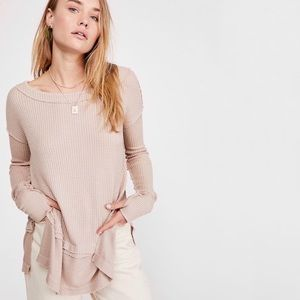 Free people thermal sand north shore neutral